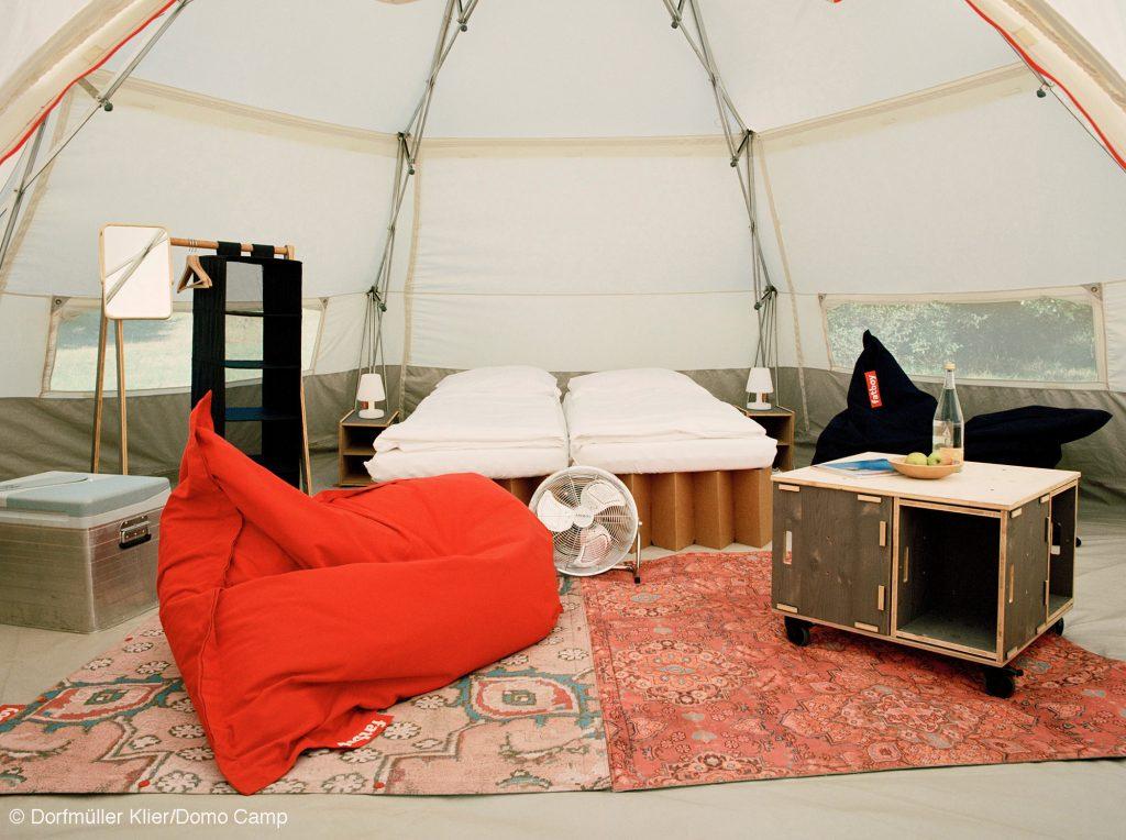 Domo camp Werkhaus vollaustattung DOMO